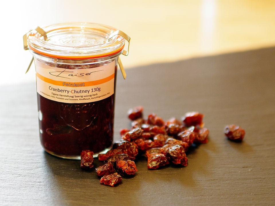 Cranberry-Chutney